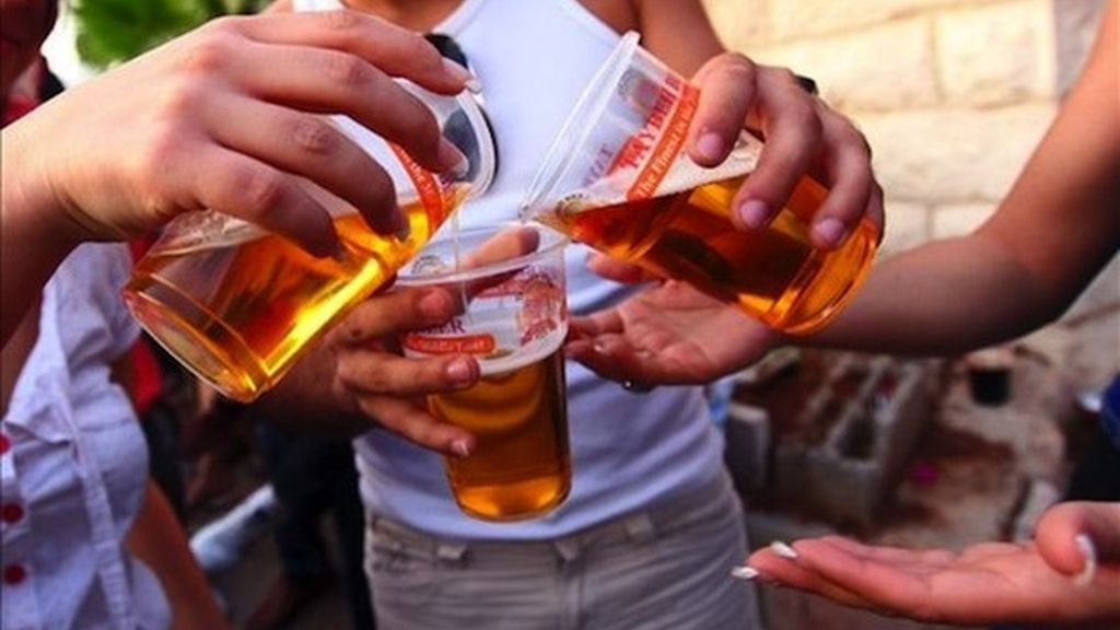 Alcohol entre jóvenes