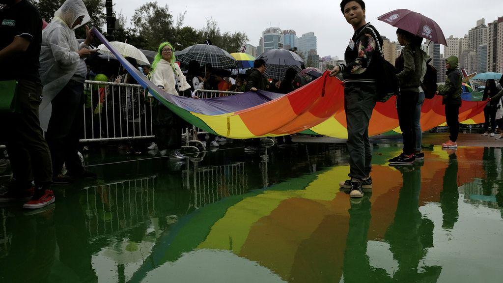 El orgullo gay, en Hong Kong