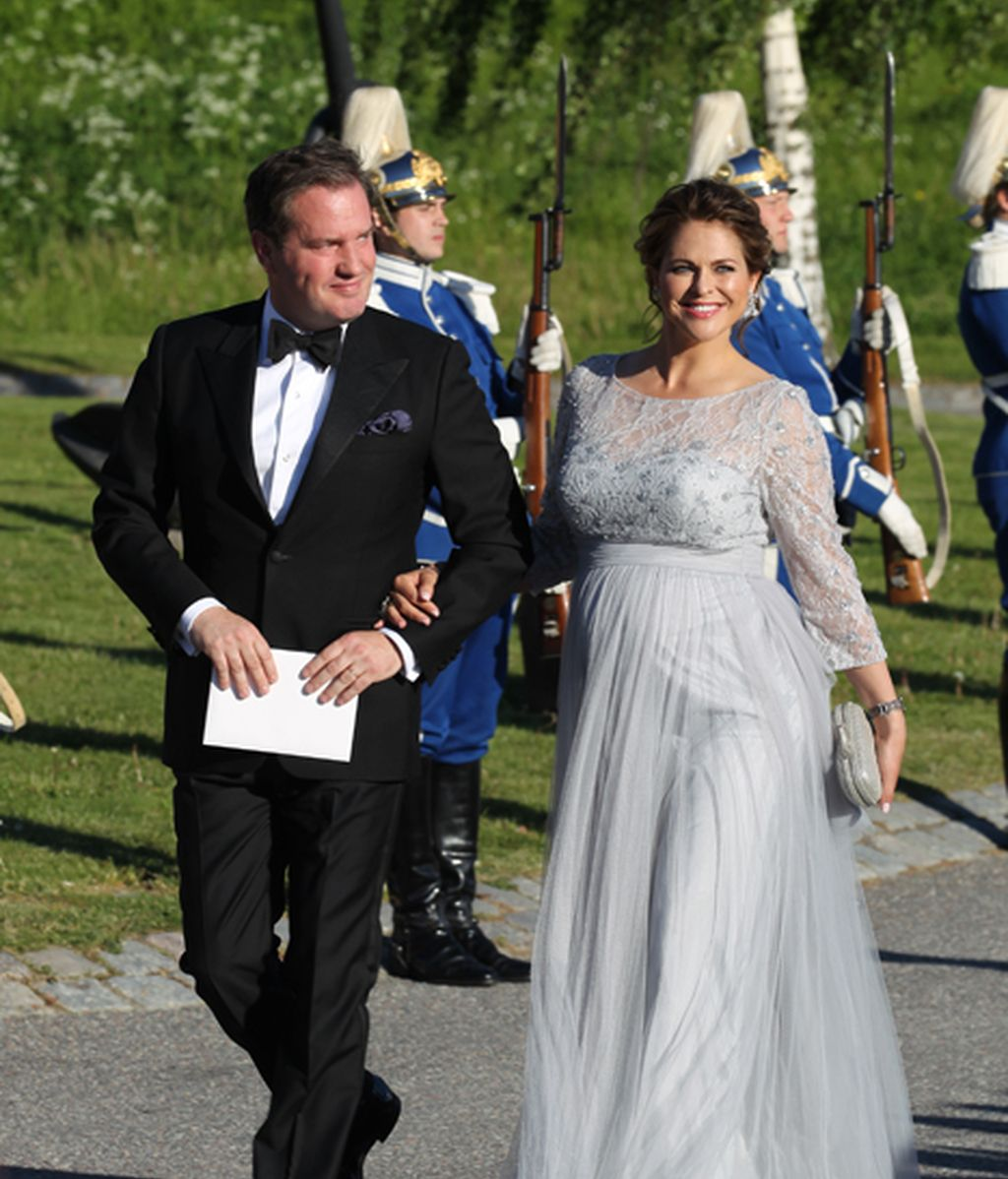 Magdalena de Suecia, embarazadísima, y Chris O'Neill