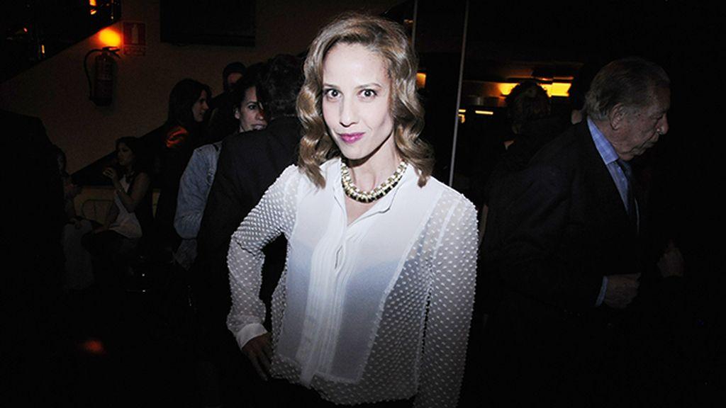 Mónica Aragón también disfrutó de la fiesta en el T Club