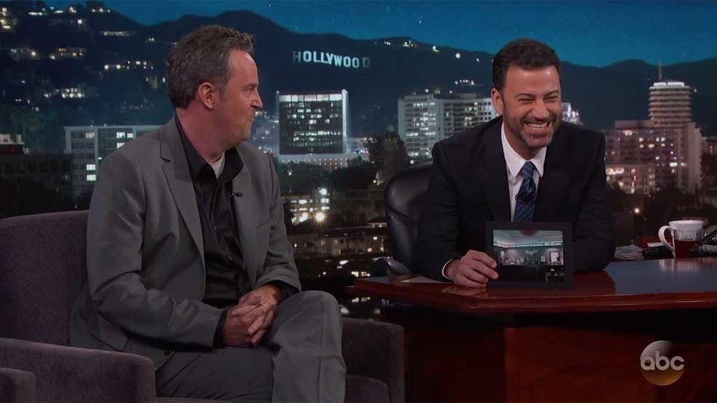 Matthew Perry en Jimmy Kimmel Live!