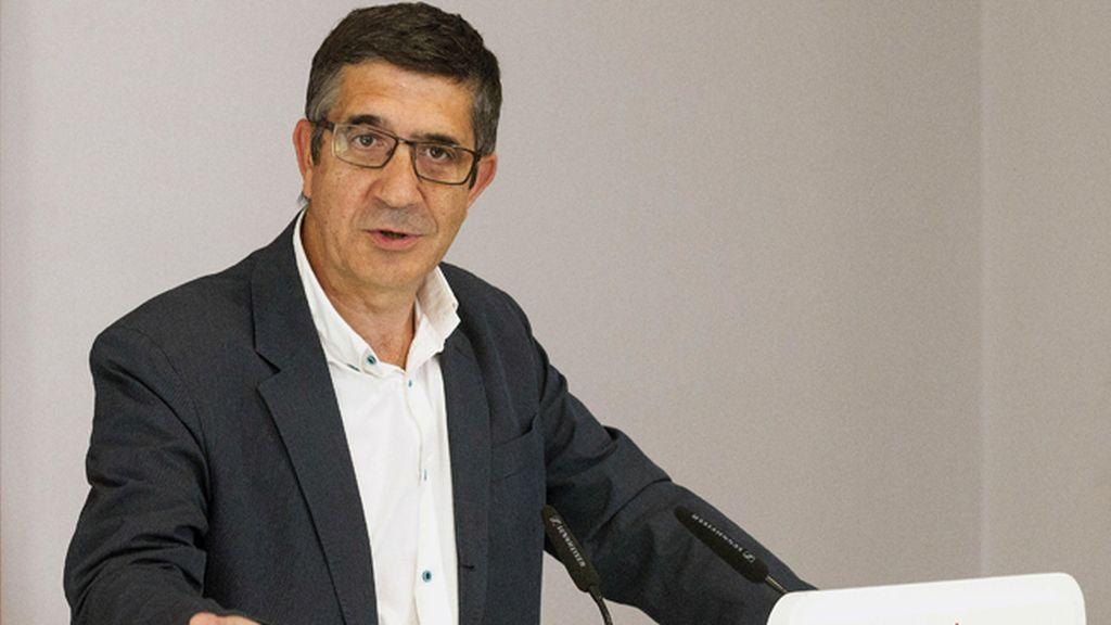 Patxi López, PSOE