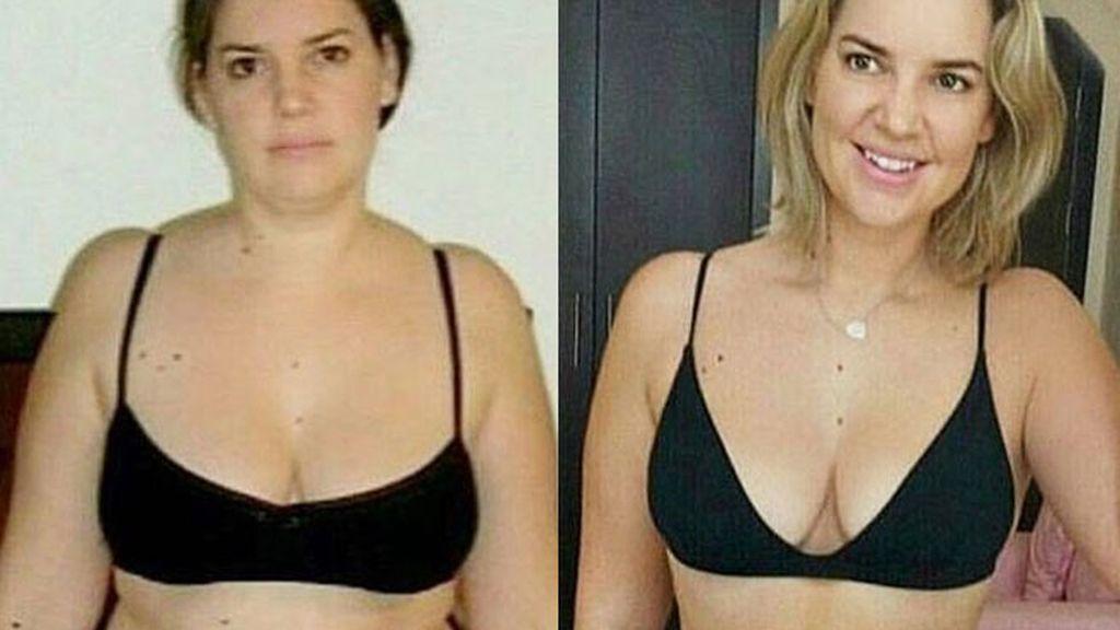 Kathryn Dickie, adelgaza 18 kilos