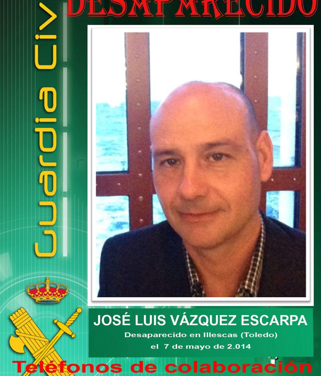 La Guardia Civil pide colaboración ciudadana para encontrar a un hombre desaparecido en Toledo