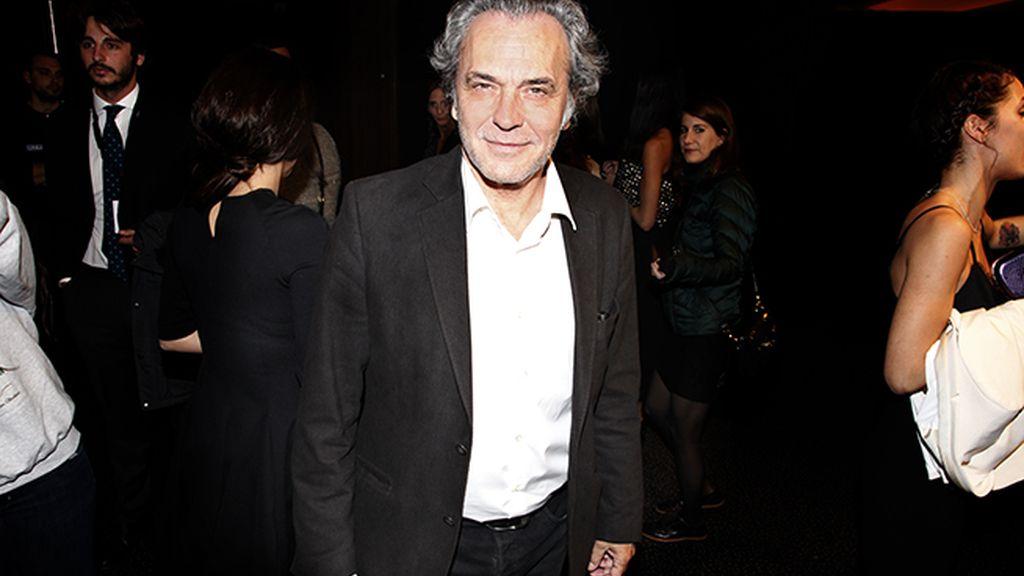 """José Coronado fue otro de los grandes actores en acudir al estreno de """"Palmeras en la nieve"""""""