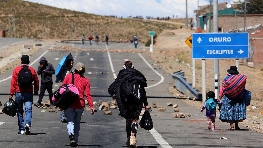 Mineros denuncian tercer muerto en nuevos choques con la Policía en altiplano
