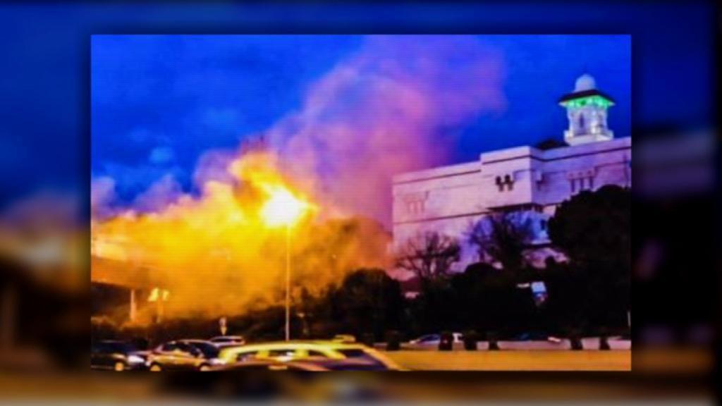 Hogar Social Madrid 'Ramiro Ledesma',Mezquita de la M-30