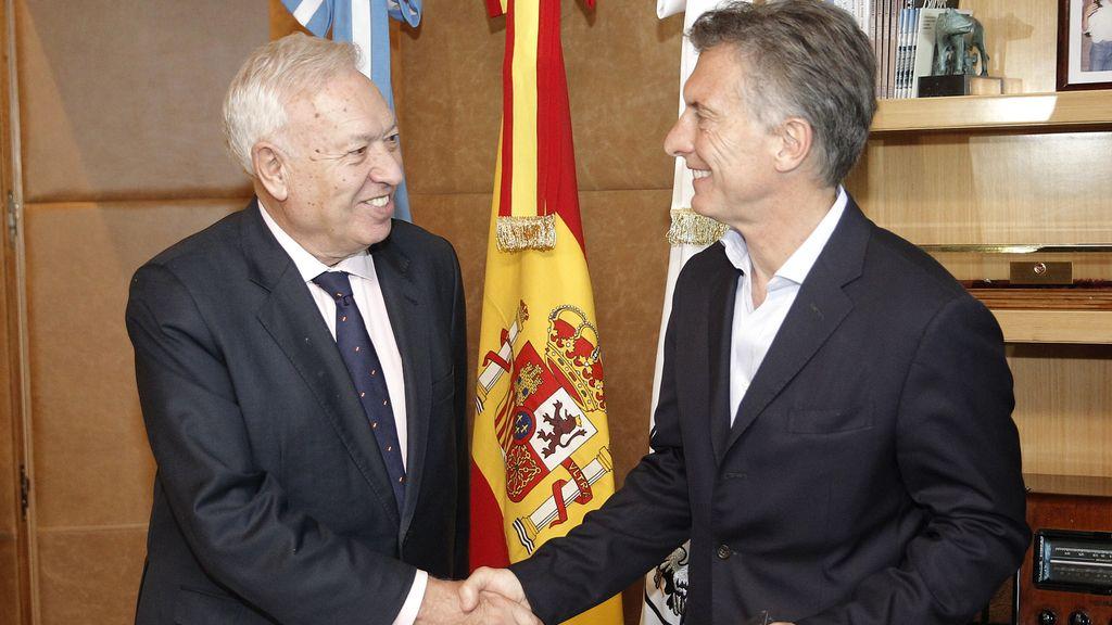 """Margallo augura """"relaciones espectaculares"""" con la Argentina de Macri"""