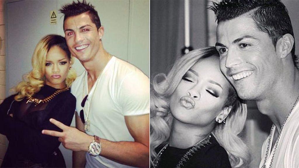 El momentazo de Cristiano Ronaldo con Rihanna tras su concierto en Lisboa, ¡mítico!