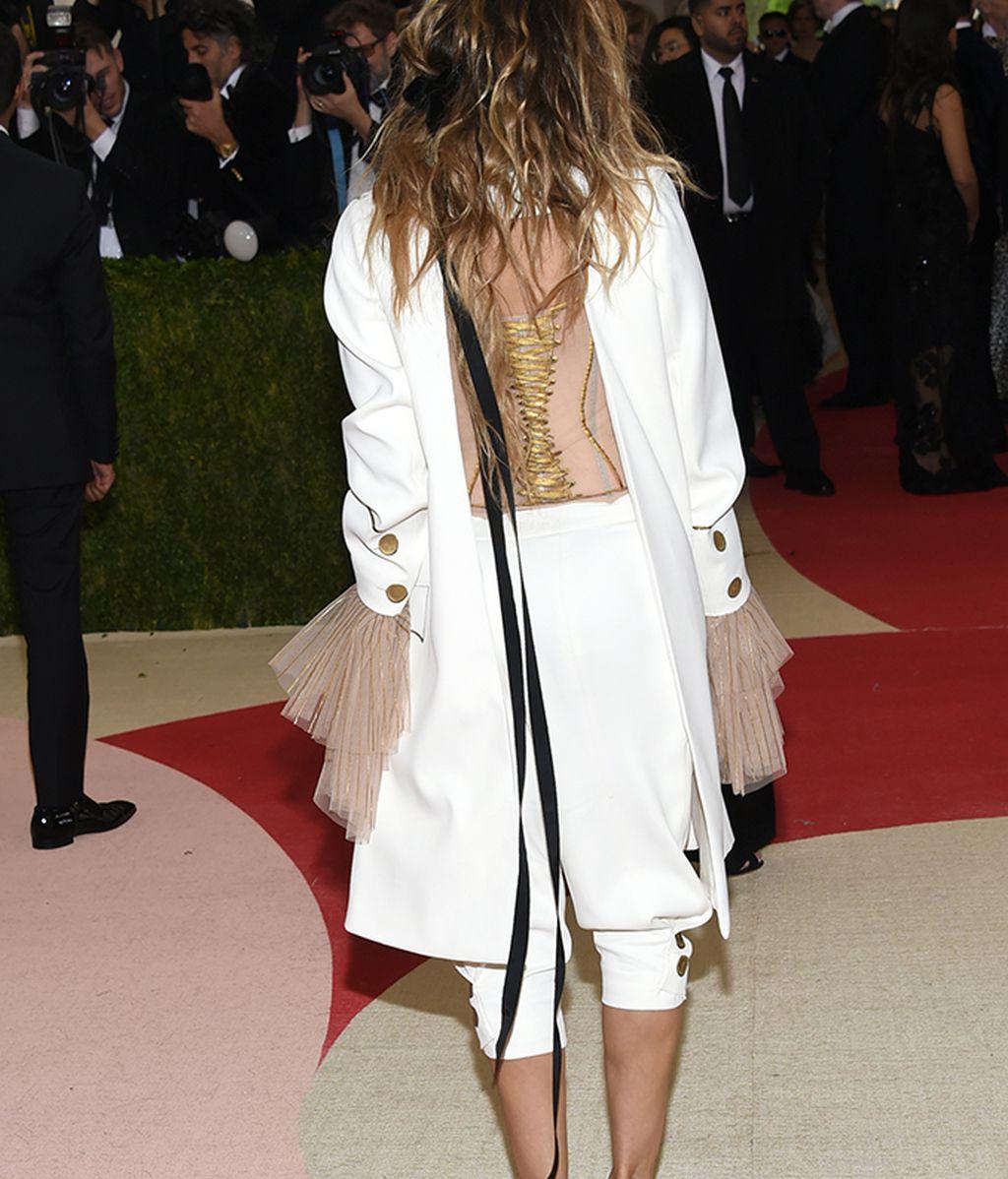Espalda del modelo de Sarah Jessica Parker