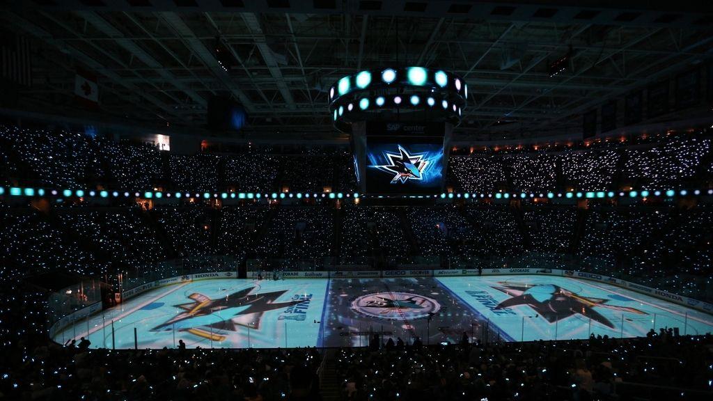 El gran espectáculo antes de la final de hockey sobre hielo
