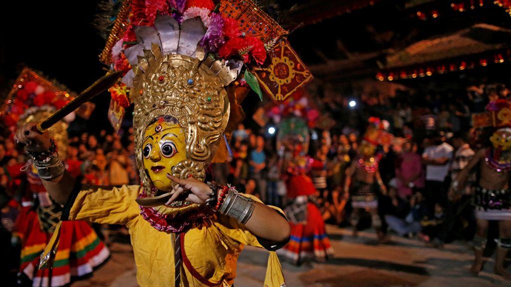 Bailes tradicionales en Nepal
