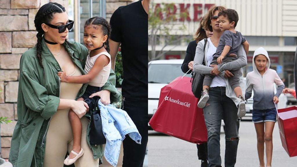Kim Kardashian y Halle Berry