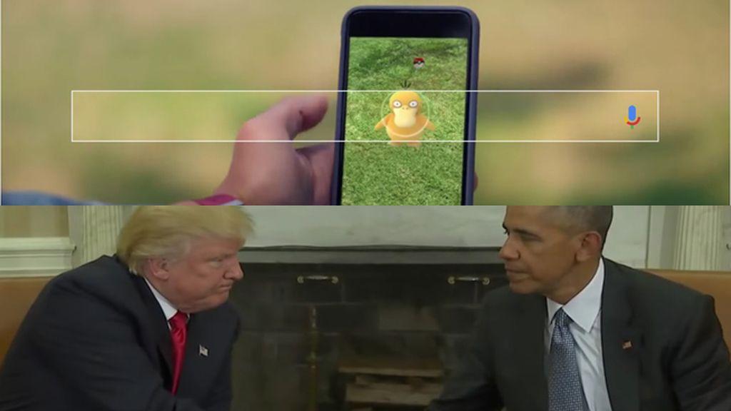 Pokémon GO, el iPhone 7 y Donald Trump, lo más buscado en Google durante 2016