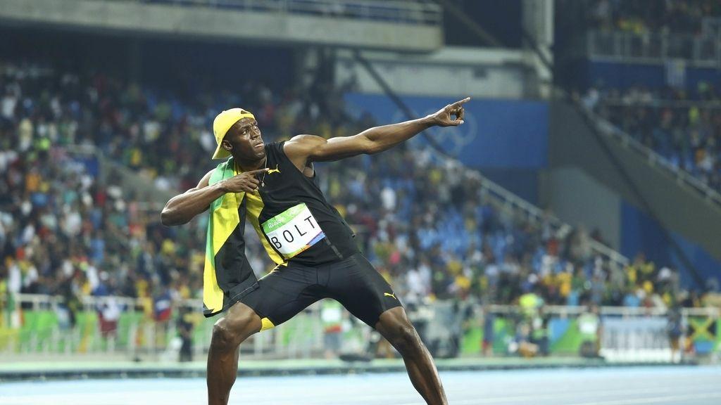 Usain Bolt vuelve a hacer historia ganando un oro en los cien metros (15/08/2016)