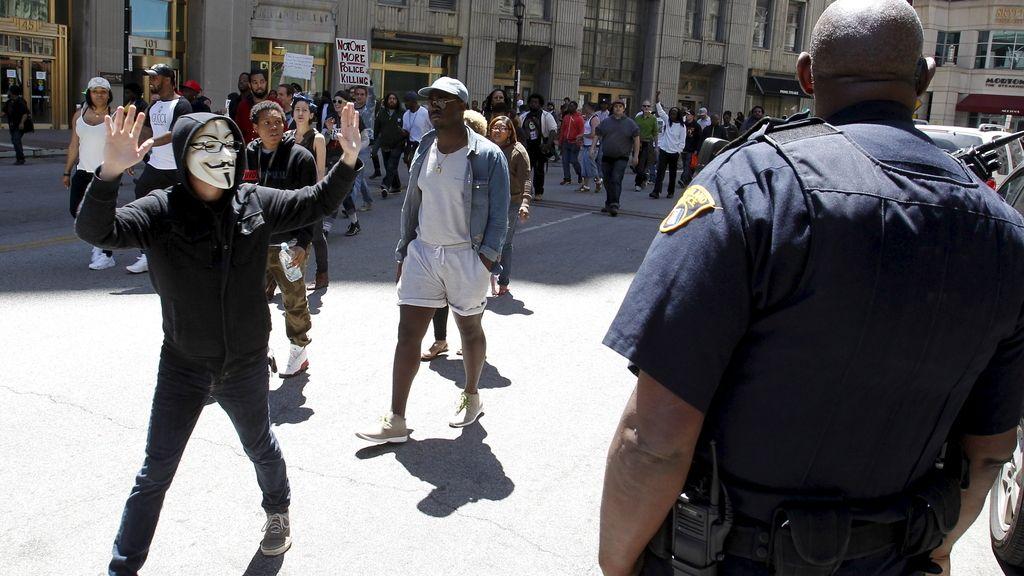 Varios detenidos en Cleveland tras las protestas por la absolución de un policía acusado de matar a dos sospechosos
