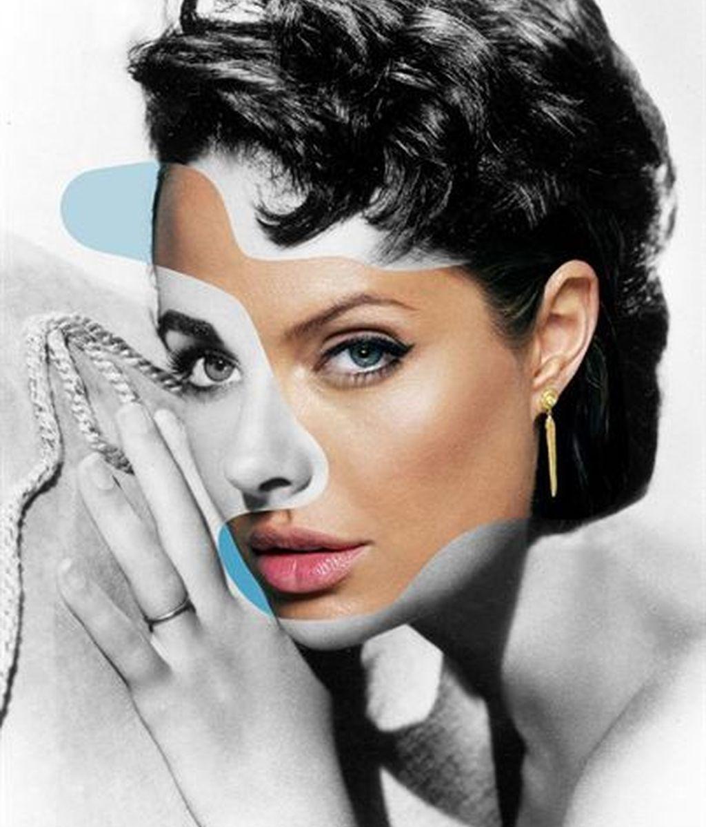 Angelina Jolie y Elizabeth Taylor