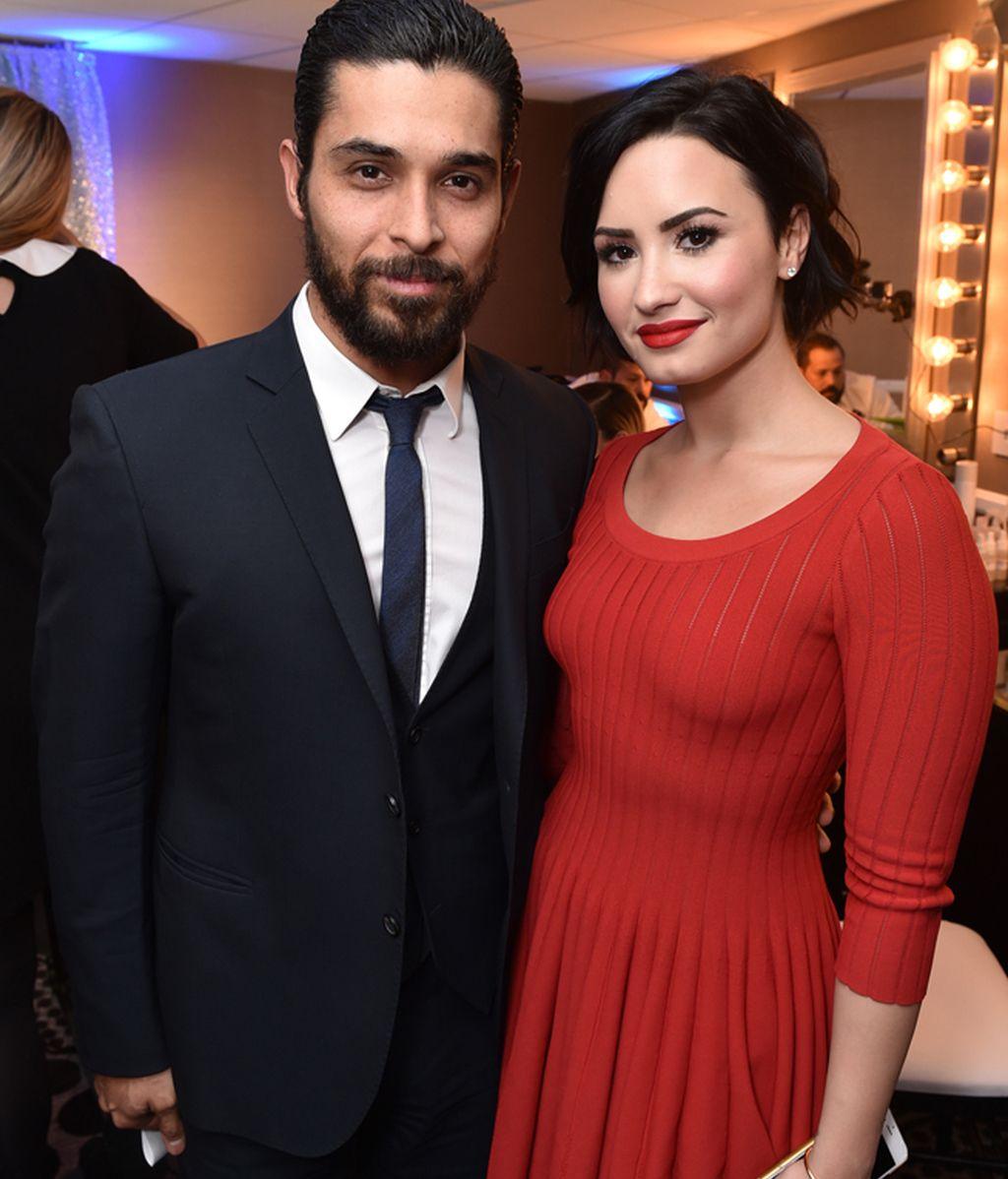 Demi Lovato y Wilmer Valderrama