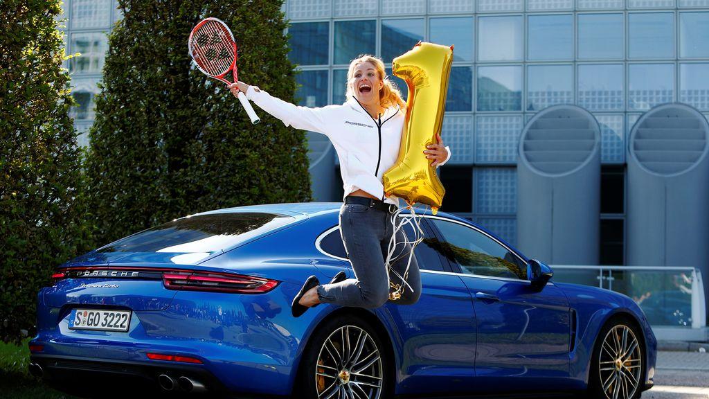 Angelique Kerber se convierte en la nueva número uno del tenis (13/09/2016)