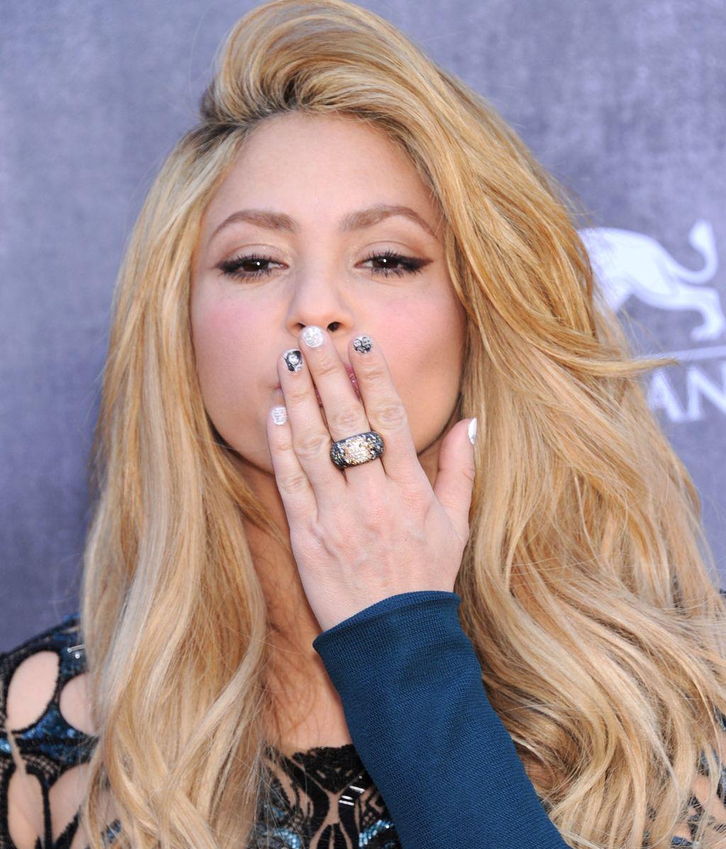 La misteriosa manicura de Shakira