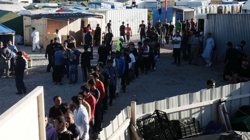Campamento de Calais