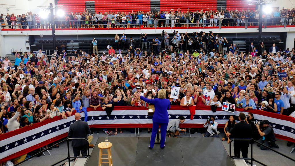 Campaña electoral de Hillary Clinton