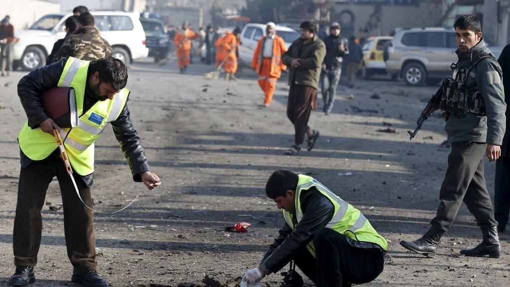 Atentado kamikaze en Kabul: Un muerto y 14 heridos