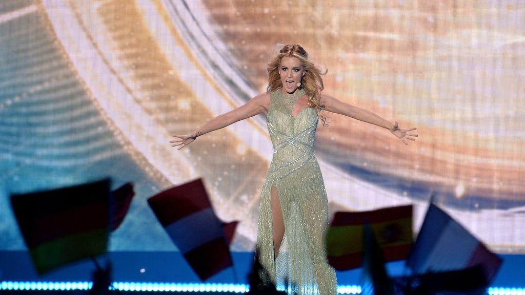 Edurne queda en el puesto 21 de Eurovisión