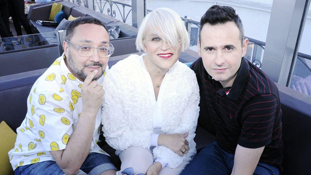 Dani Pannullo, Antonia San Juan y Luis Miguel Seguí
