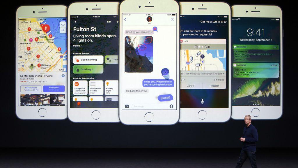 Apple presenta su nuevo móvil