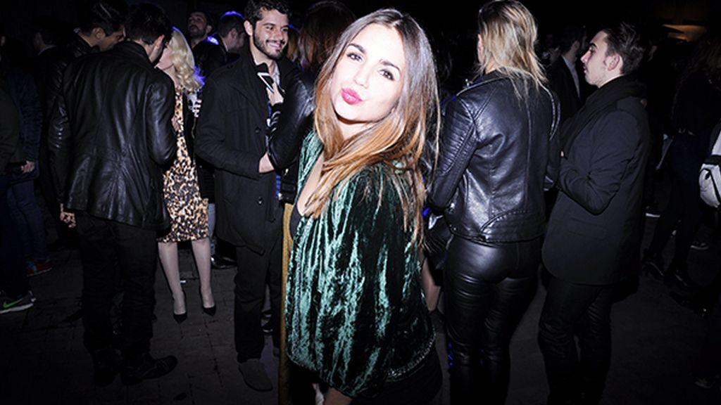 """Elena Furiase acudió con esta preciosa chaqueta vintage que compró en """"C Madeleine´s"""" de Miami"""