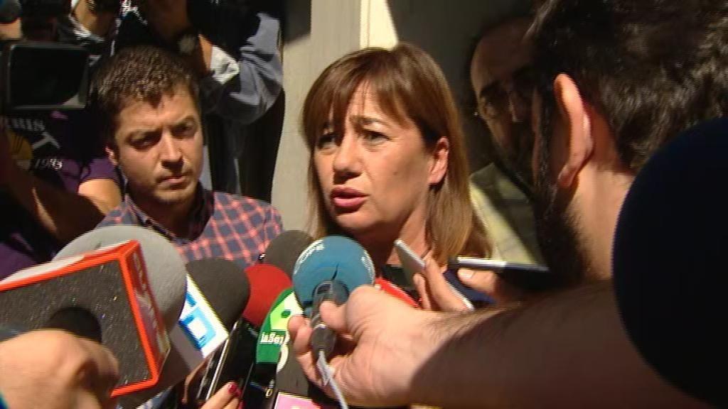 """Armengol: """"Deben ser los militantes quienes decidan"""" en el Congreso"""