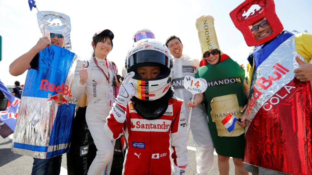 La locura de los aficionados de Fórmula 1 se desata en Japón (06/10/2016)