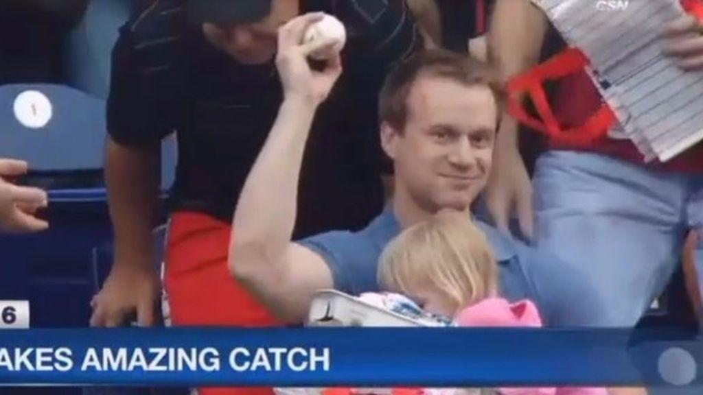Padre pelota de béisbol