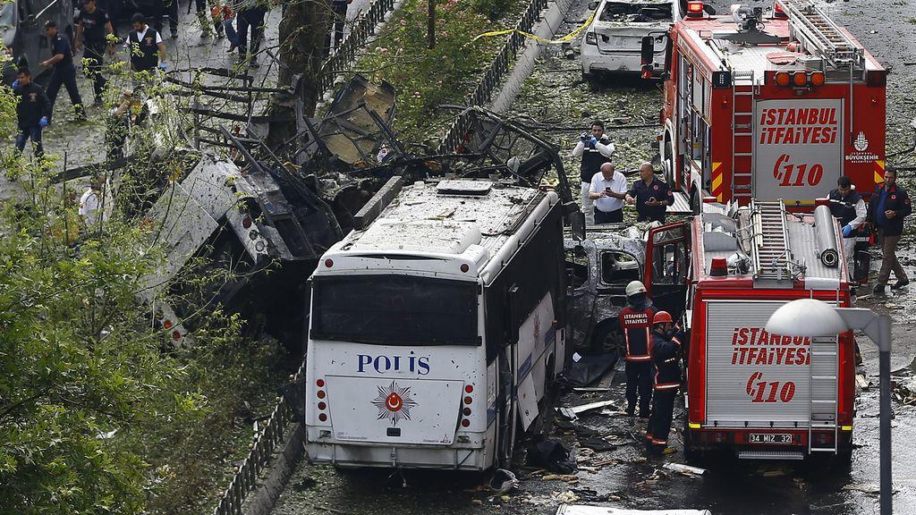 Ataque bomba en el centro de Estambul