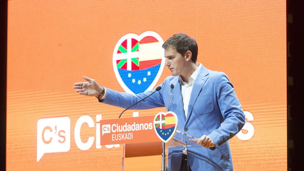 Albert Rivera en Vitoria