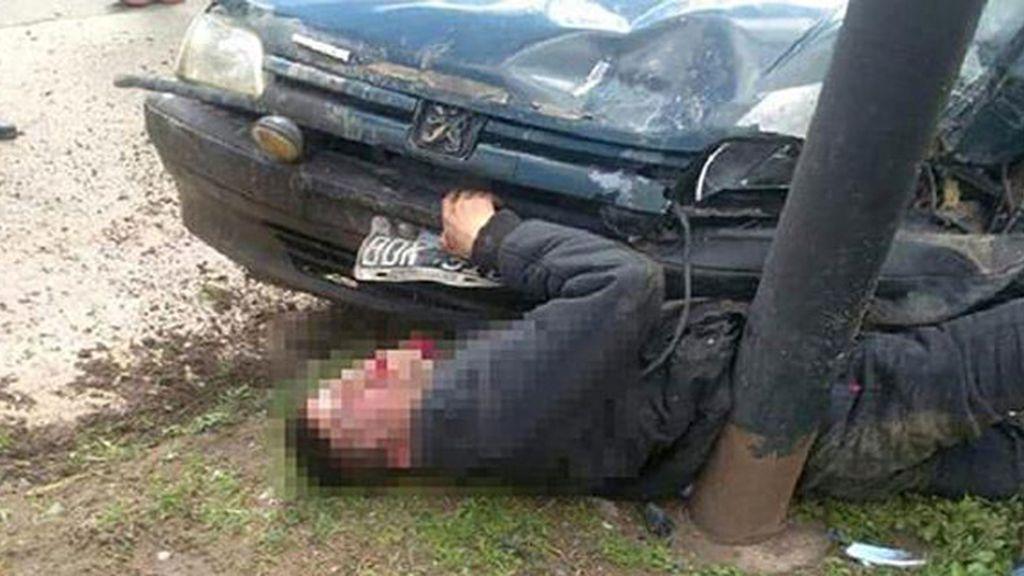 Un carnicero persigue y atropella mortalmente a un joven que le había robado
