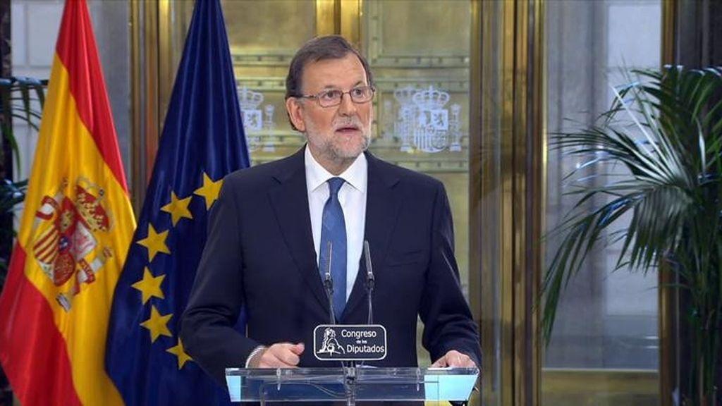El crecimiento económico y 170 escaños, objetivo del acuerdo investir a Rajoy