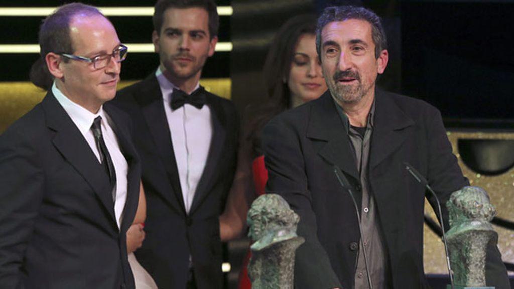 Alberto Rodríguez y Rafael Cobos, Goya al Mejor Guión Original por 'La isla mínima'