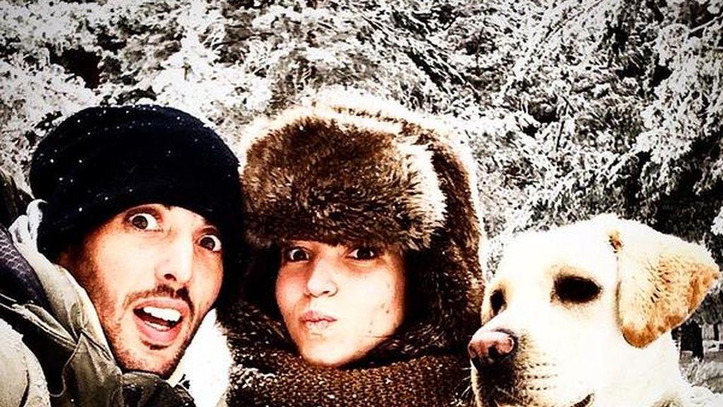 Santi y la actriz Ana Fernández formaban una de las parejas más sólidas
