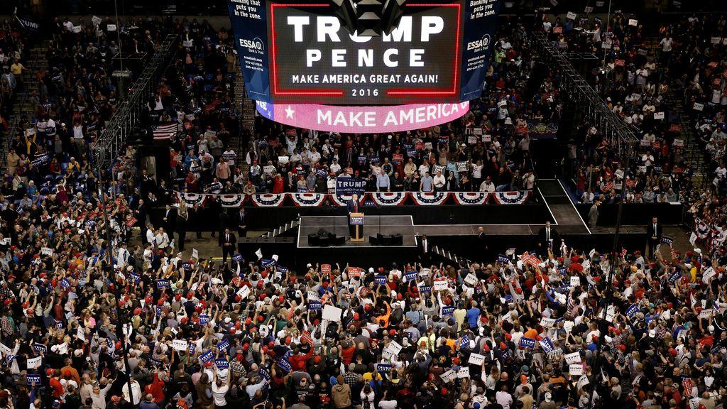 El poder social de Donald Trump
