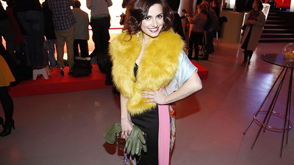 Ana del Rey con un colorido look de David Christian