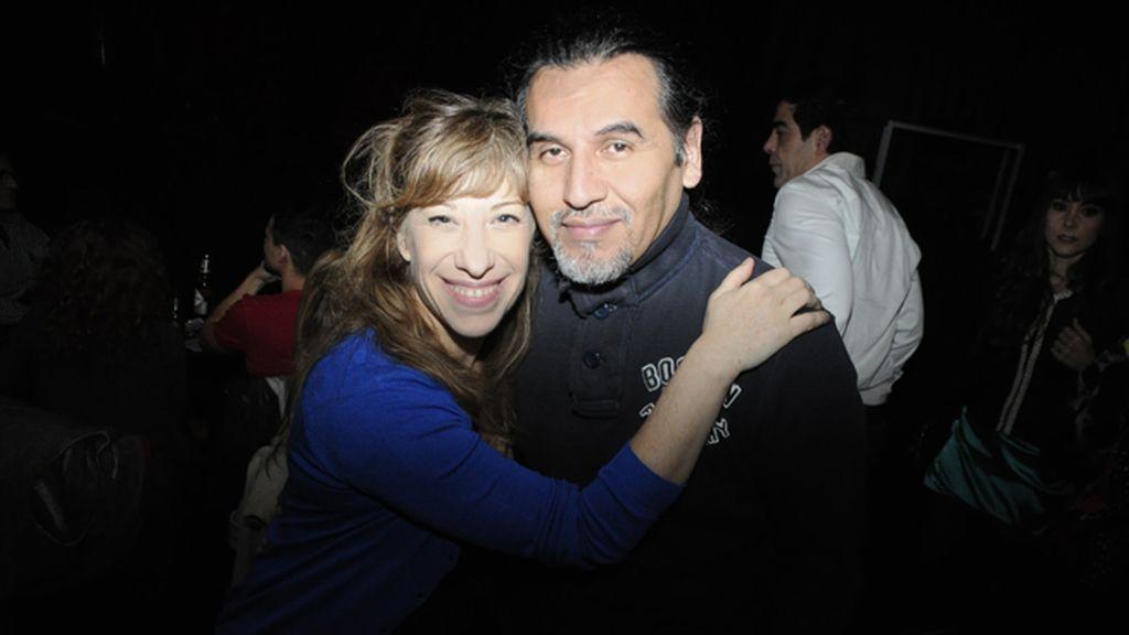 Nathalie Seseña y Carlos Alcalde