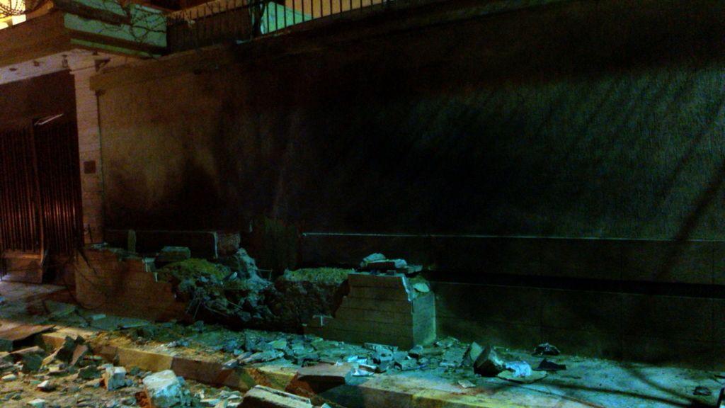Explosión de un artefacto casero en la embajada española en Libia
