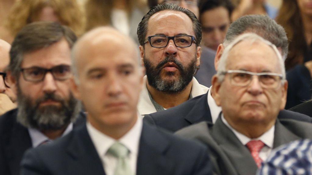 Álvaro Pérez y Ángel Sanchís durante el juicio por el caso Gürtel