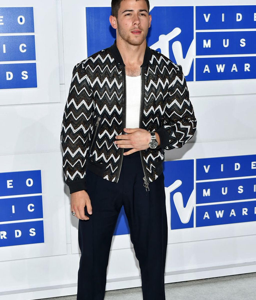 Nick Jonas en los 'MTV MVA' en Madison Square