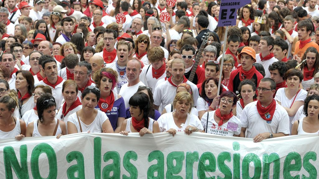 Manifestación en Pamplona