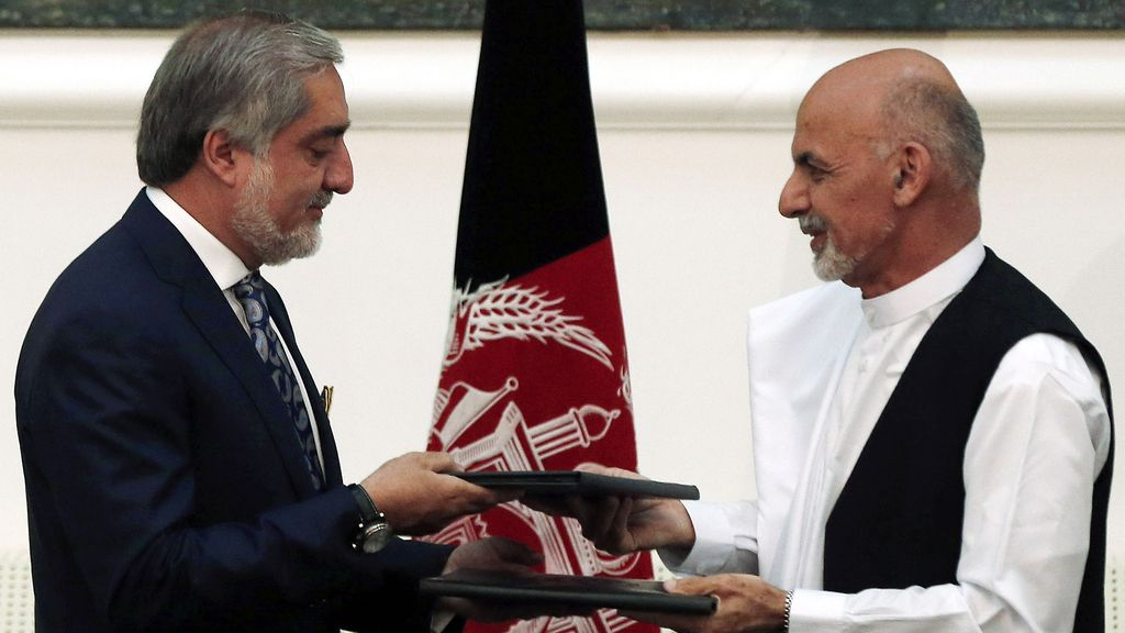Abdullah Abdullah y Ashraf Ghani