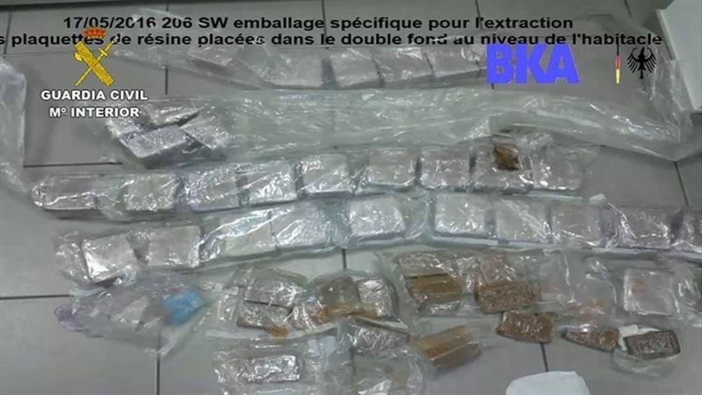 Droga operación Spax