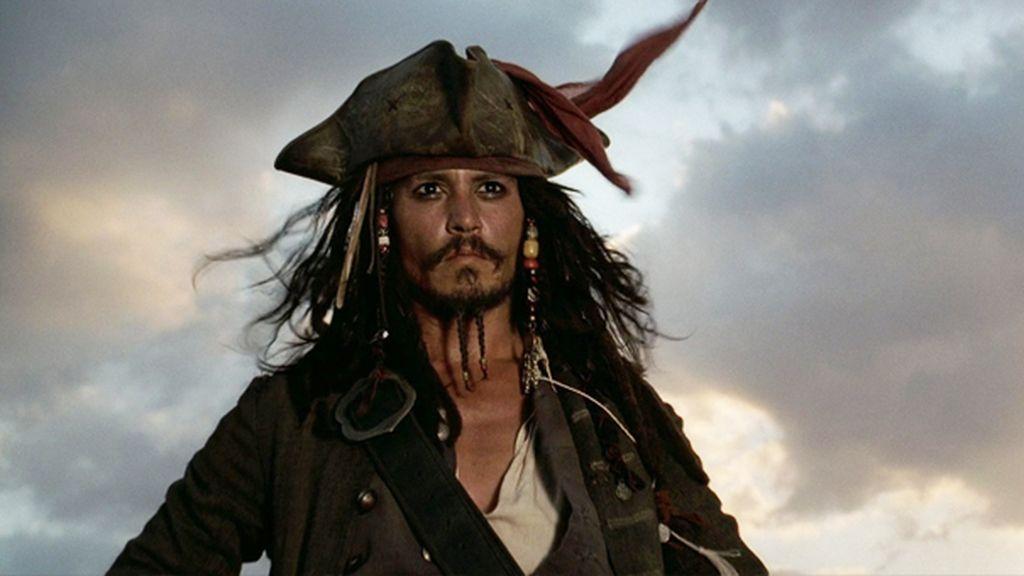 Capitán Jack Sparrow de Piratas del Caribe
